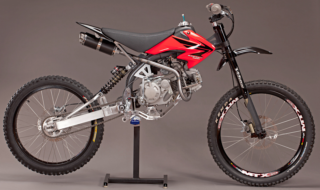 motoped 155 pitster