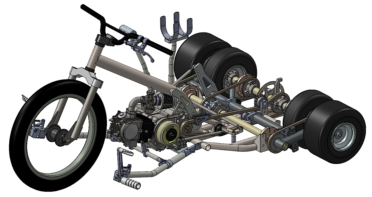 drift trike variable traction
