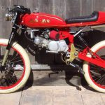 cafe motoped red