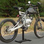 motoped bike seat subframe