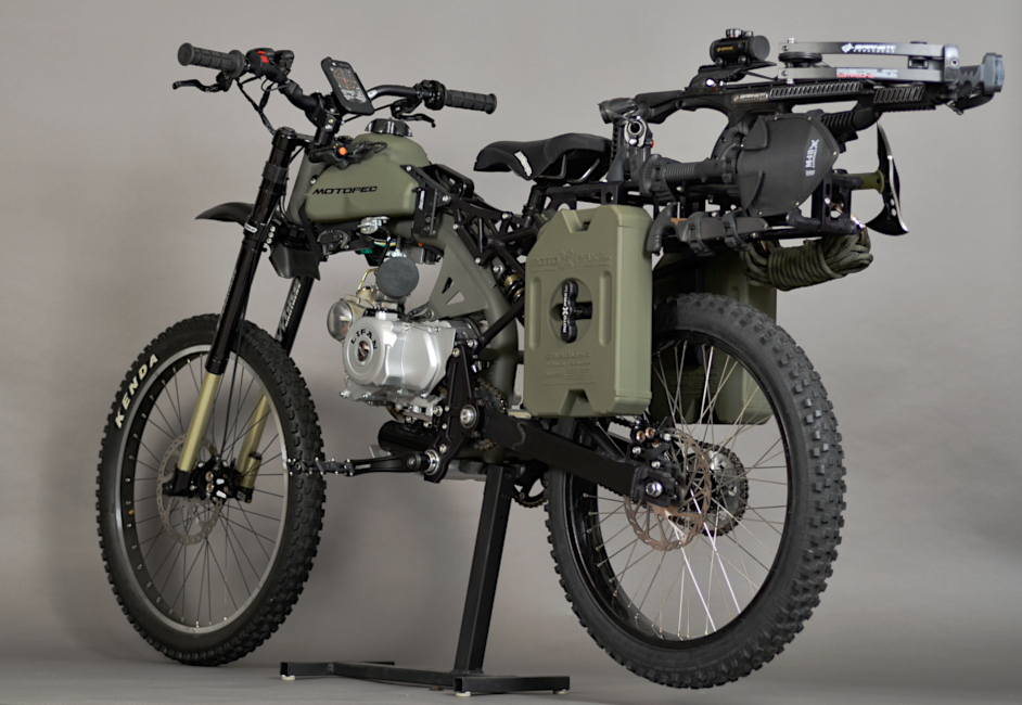 motoped survival 650h