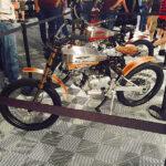 motoped at Barrett-Jackson